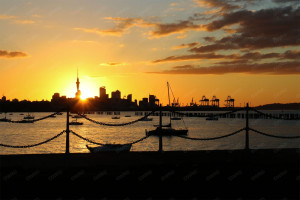 Auckland NZ Waterfront
