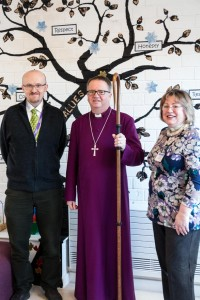 School Head,Bishop Alan and Rosie Bunn